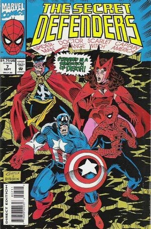 Cover of Secret Defenders (Vol 1) #7. One of 250,000 Vintage American Comics on sale from Krypton!