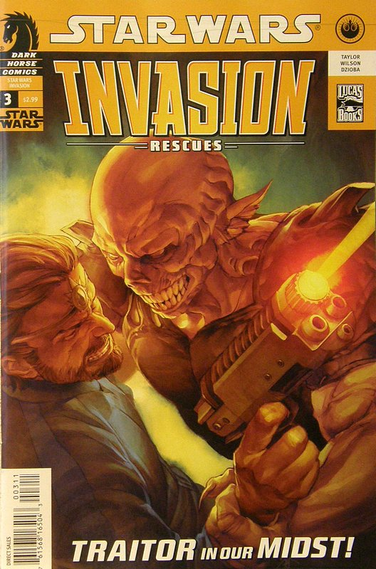 Cover of Star Wars: Invasion - Rescues (2010 Ltd) #3. One of 250,000 Vintage American Comics on sale from Krypton!