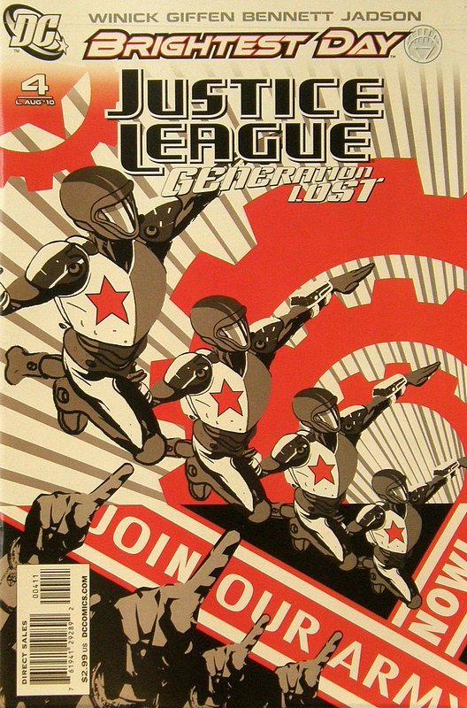 Cover of Justice League: Generation Lost (Vol 1) #4. One of 250,000 Vintage American Comics on sale from Krypton!