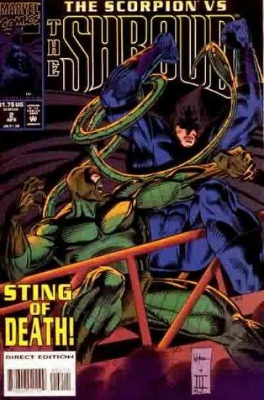 Cover of Shroud (1994 Ltd) The #2. One of 250,000 Vintage American Comics on sale from Krypton!