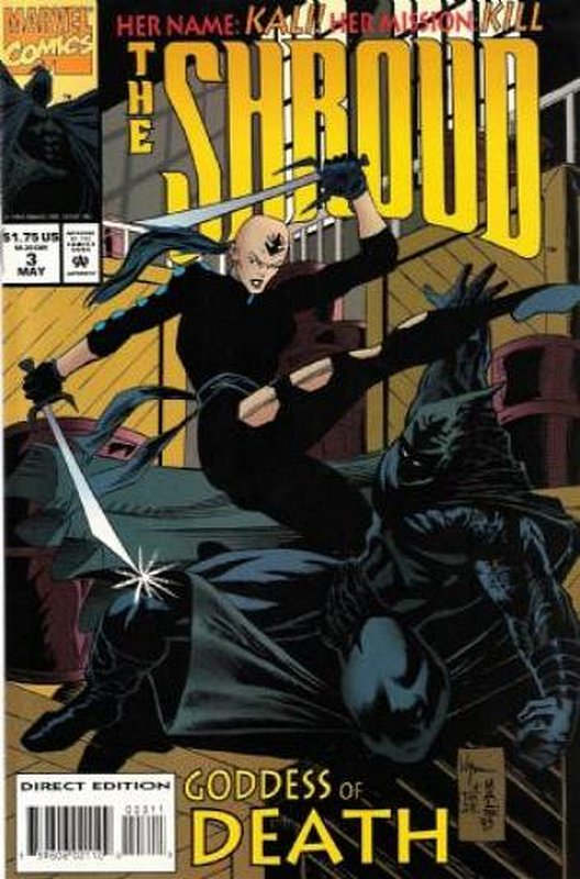 Cover of Shroud (1994 Ltd) The #3. One of 250,000 Vintage American Comics on sale from Krypton!