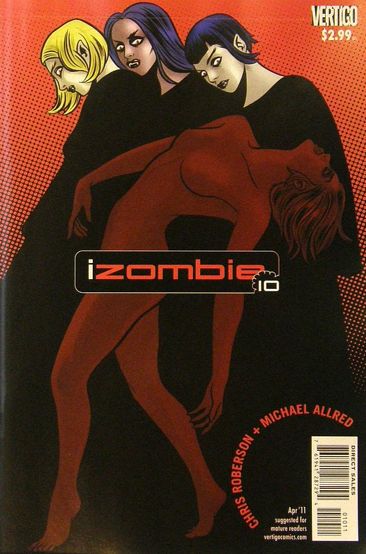 Cover of I Zombie (Vol 1) #10. One of 250,000 Vintage American Comics on sale from Krypton!
