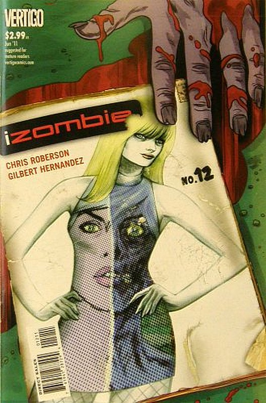 Cover of I Zombie (Vol 1) #12. One of 250,000 Vintage American Comics on sale from Krypton!