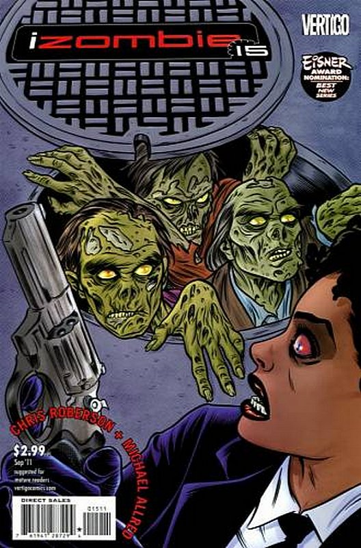 Cover of I Zombie (Vol 1) #15. One of 250,000 Vintage American Comics on sale from Krypton!