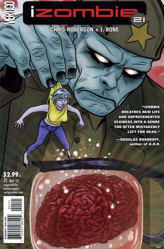 Cover of I Zombie (Vol 1) #21. One of 250,000 Vintage American Comics on sale from Krypton!