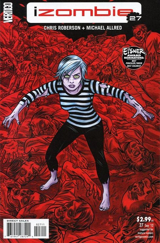 Cover of I Zombie (Vol 1) #27. One of 250,000 Vintage American Comics on sale from Krypton!