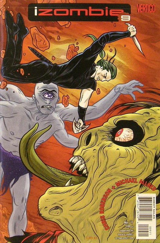 Cover of I Zombie (Vol 1) #9. One of 250,000 Vintage American Comics on sale from Krypton!