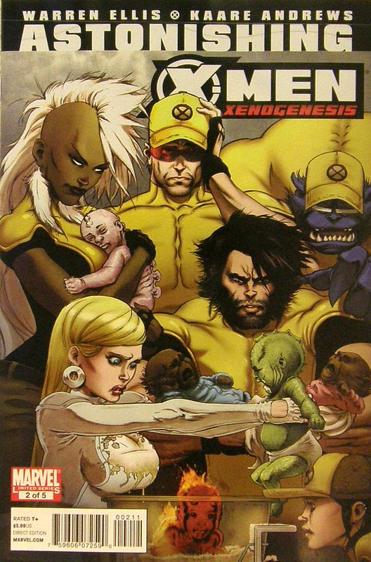 Cover of Astonishing X-Men: Xenogenesis #2. One of 250,000 Vintage American Comics on sale from Krypton!