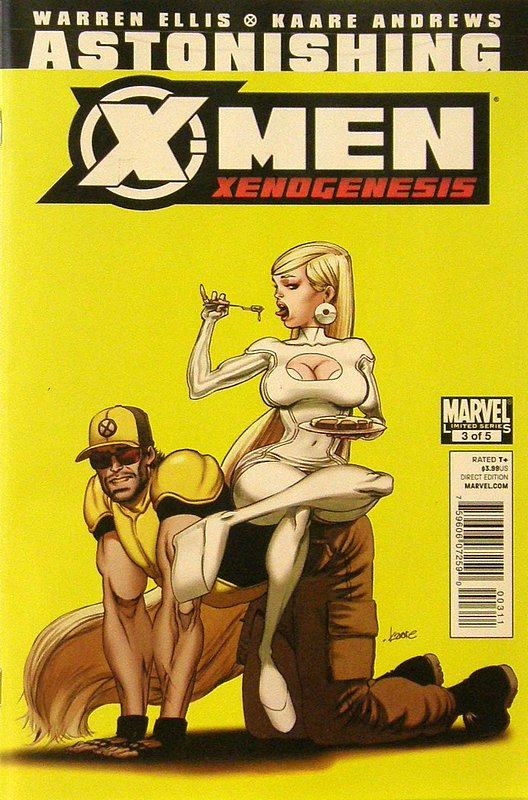 Cover of Astonishing X-Men: Xenogenesis #3. One of 250,000 Vintage American Comics on sale from Krypton!
