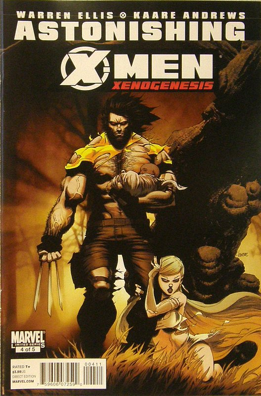 Cover of Astonishing X-Men: Xenogenesis #4. One of 250,000 Vintage American Comics on sale from Krypton!