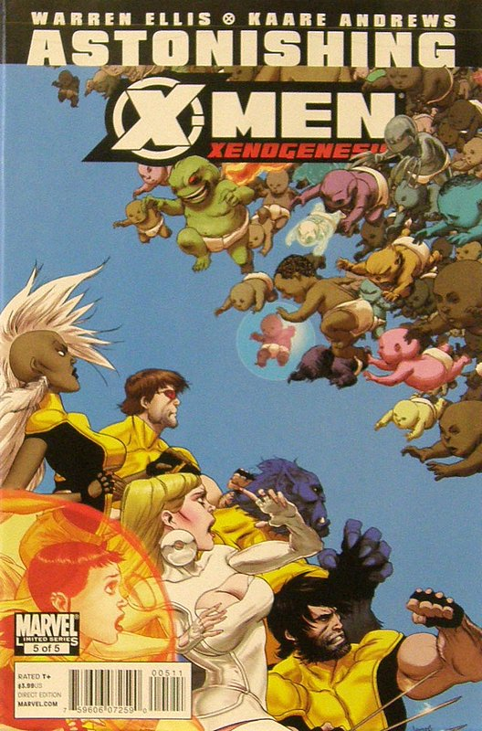 Cover of Astonishing X-Men: Xenogenesis #5. One of 250,000 Vintage American Comics on sale from Krypton!