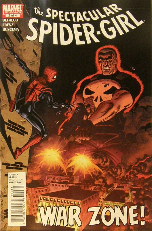 Cover of Spectacular Spider-Girl (Vol 1) #2. One of 250,000 Vintage American Comics on sale from Krypton!