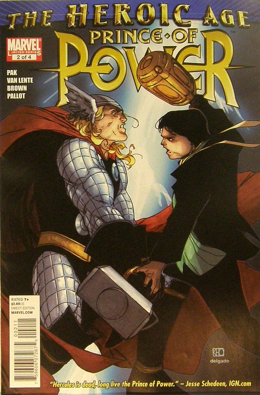 Cover of Heroic Age: Prince of Power (2010 Ltd) #2. One of 250,000 Vintage American Comics on sale from Krypton!