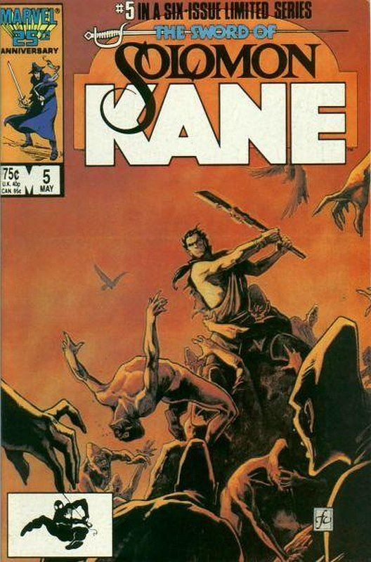 Cover of Solomon Kane (1985 Ltd) #5. One of 250,000 Vintage American Comics on sale from Krypton!