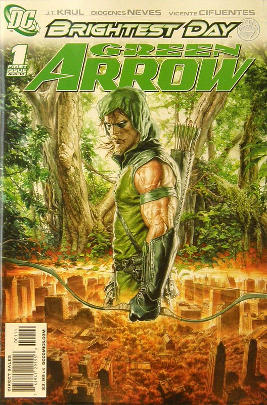 Cover of Green Arrow (Vol 3) #1. One of 250,000 Vintage American Comics on sale from Krypton!