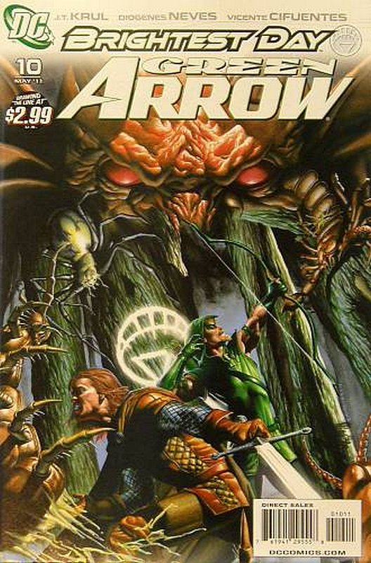 Cover of Green Arrow (Vol 3) #10. One of 250,000 Vintage American Comics on sale from Krypton!