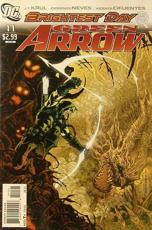 Cover of Green Arrow (Vol 3) #11. One of 250,000 Vintage American Comics on sale from Krypton!