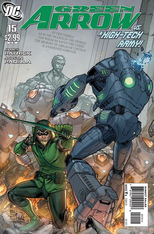 Cover of Green Arrow (Vol 3) #15. One of 250,000 Vintage American Comics on sale from Krypton!
