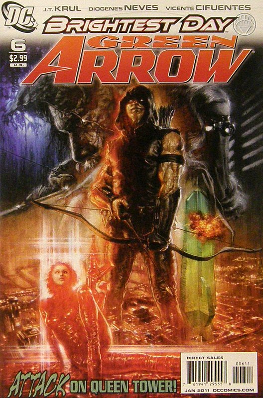 Cover of Green Arrow (Vol 3) #6. One of 250,000 Vintage American Comics on sale from Krypton!