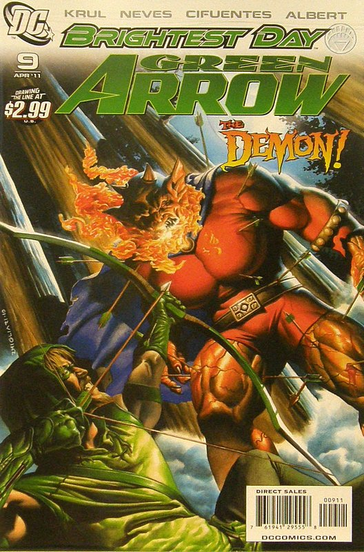 Cover of Green Arrow (Vol 3) #9. One of 250,000 Vintage American Comics on sale from Krypton!