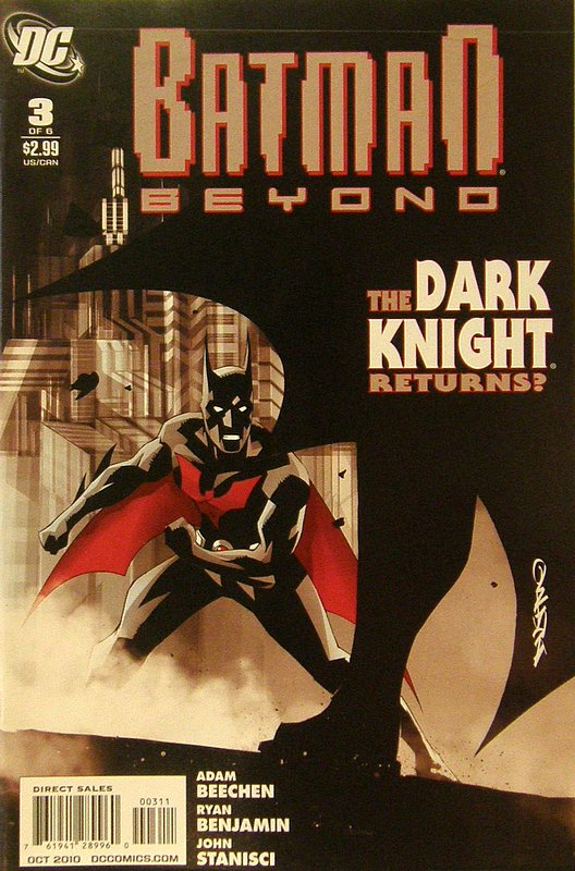 Cover of Batman Beyond (2010 Ltd) #3. One of 250,000 Vintage American Comics on sale from Krypton!