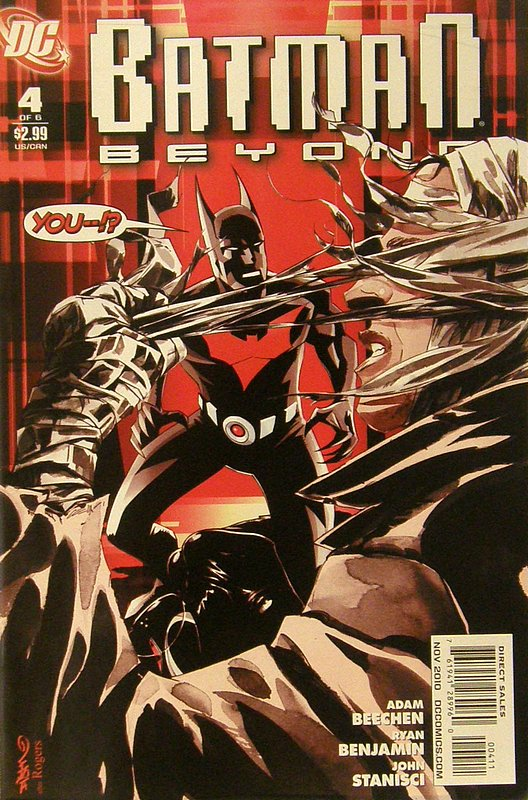 Cover of Batman Beyond (2010 Ltd) #4. One of 250,000 Vintage American Comics on sale from Krypton!