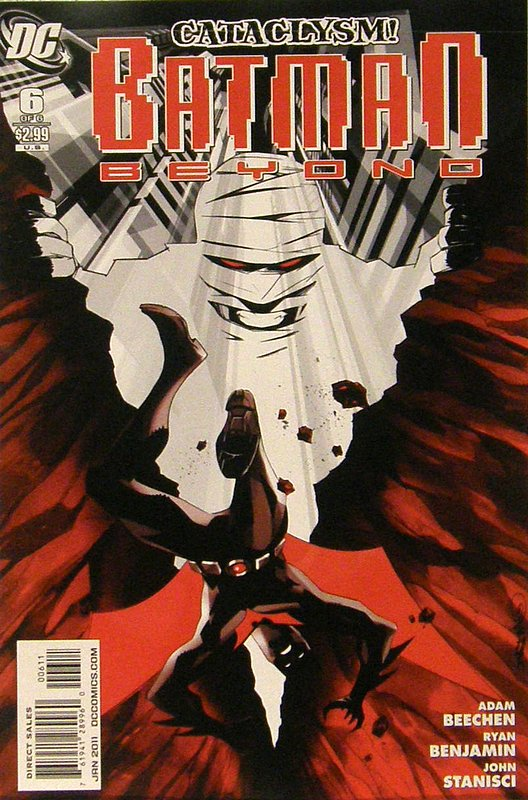 Cover of Batman Beyond (2010 Ltd) #6. One of 250,000 Vintage American Comics on sale from Krypton!