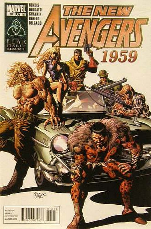 Cover of New Avengers (Vol 2) #10. One of 250,000 Vintage American Comics on sale from Krypton!