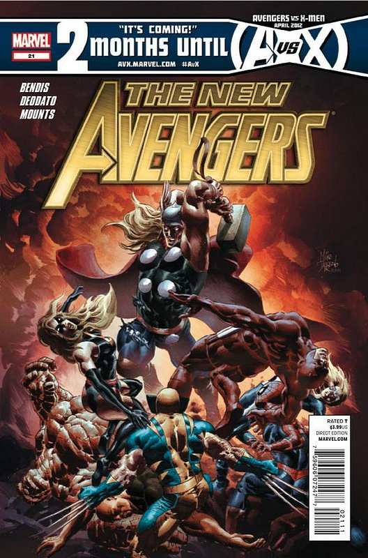 Cover of New Avengers (Vol 2) #21. One of 250,000 Vintage American Comics on sale from Krypton!