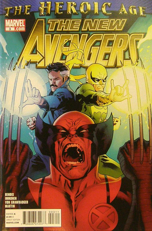 Cover of New Avengers (Vol 2) #3. One of 250,000 Vintage American Comics on sale from Krypton!