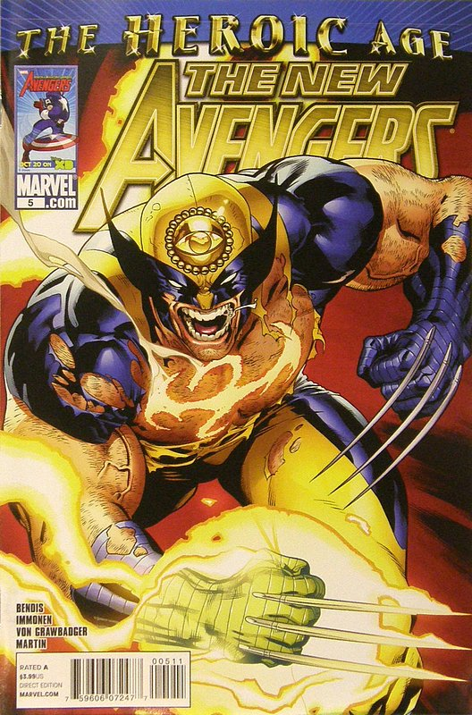 Cover of New Avengers (Vol 2) #5. One of 250,000 Vintage American Comics on sale from Krypton!