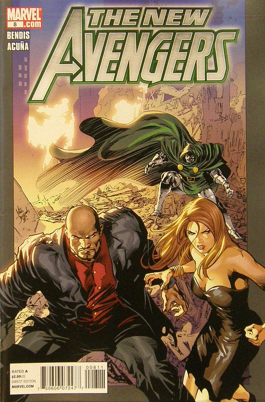 Cover of New Avengers (Vol 2) #8. One of 250,000 Vintage American Comics on sale from Krypton!