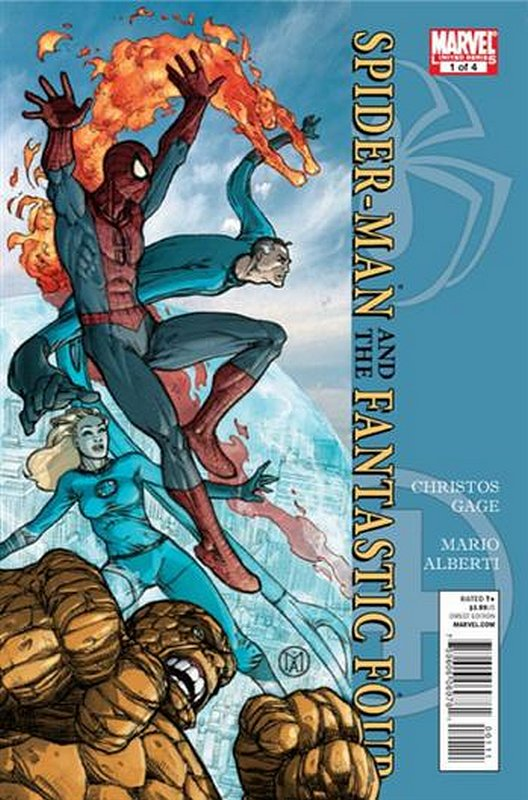 Cover of Spider-Man/Fantastic Four (2010 Ltd) #1. One of 250,000 Vintage American Comics on sale from Krypton!