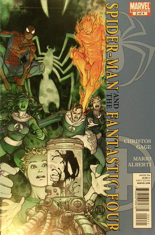 Cover of Spider-Man/Fantastic Four (2010 Ltd) #2. One of 250,000 Vintage American Comics on sale from Krypton!