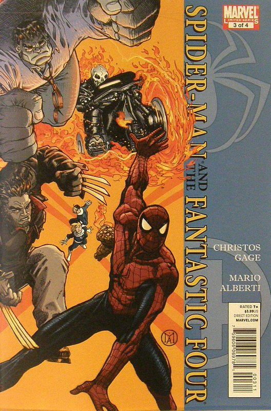 Cover of Spider-Man/Fantastic Four (2010 Ltd) #3. One of 250,000 Vintage American Comics on sale from Krypton!