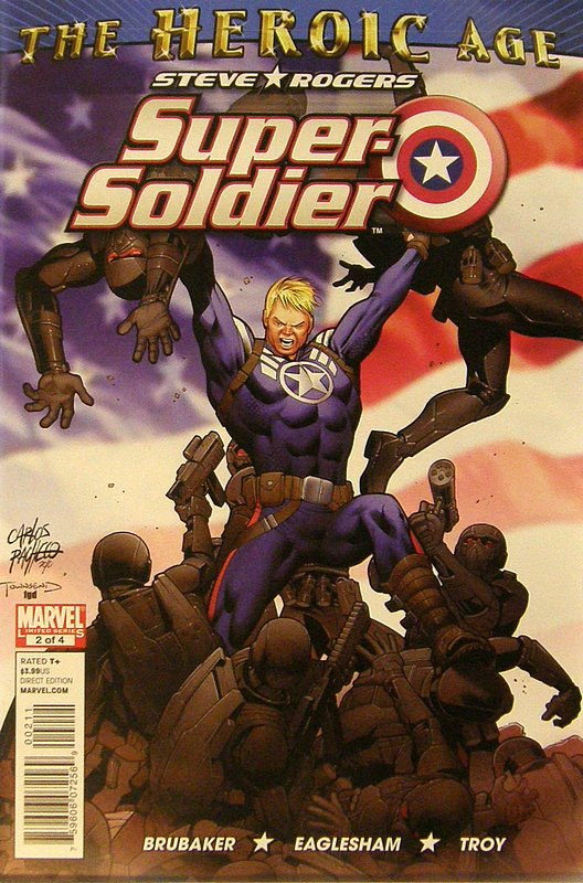 Cover of Steve Rogers: Super-Soldier (2010 Ltd) #2. One of 250,000 Vintage American Comics on sale from Krypton!