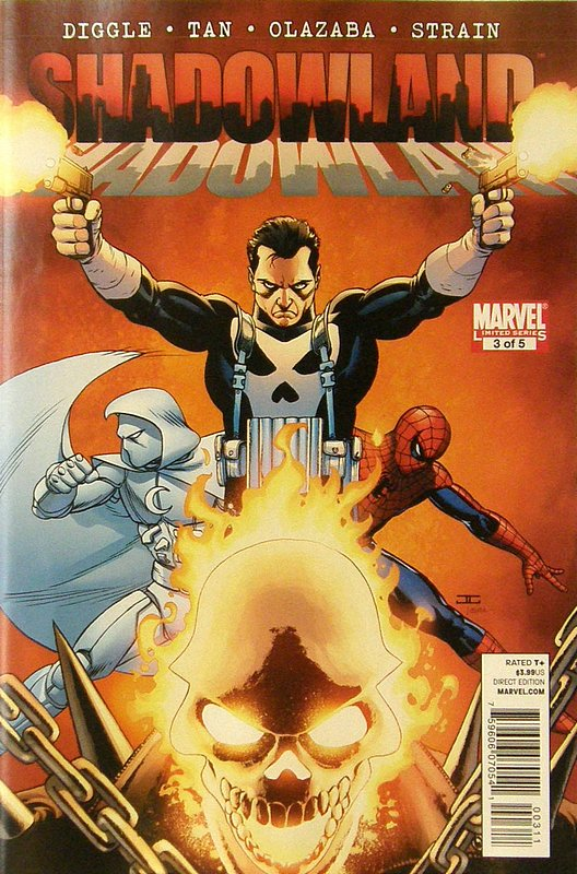 Cover of Shadowland (2010 Ltd) #3. One of 250,000 Vintage American Comics on sale from Krypton!