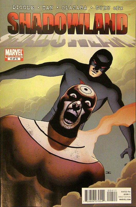 Cover of Shadowland (2010 Ltd) #4. One of 250,000 Vintage American Comics on sale from Krypton!