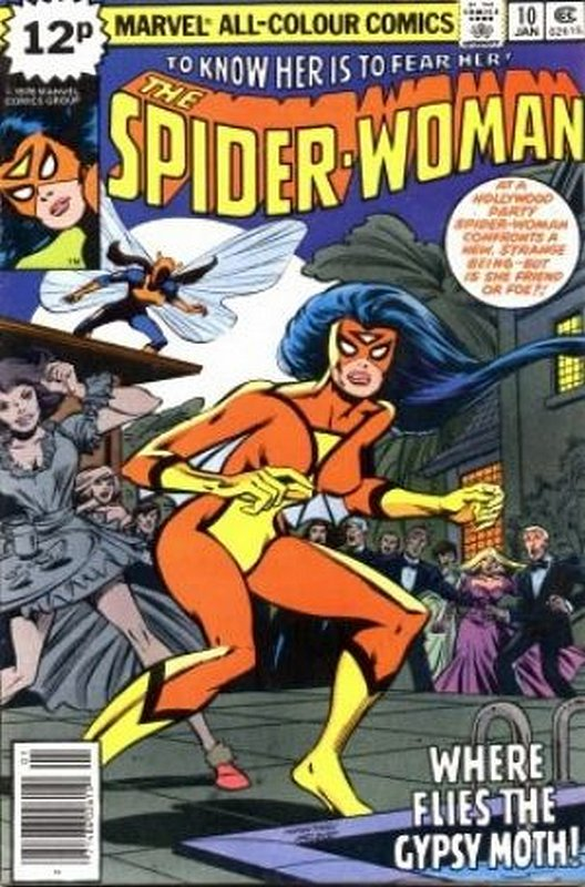 Cover of Spider-Woman (Vol 1) #10. One of 250,000 Vintage American Comics on sale from Krypton!