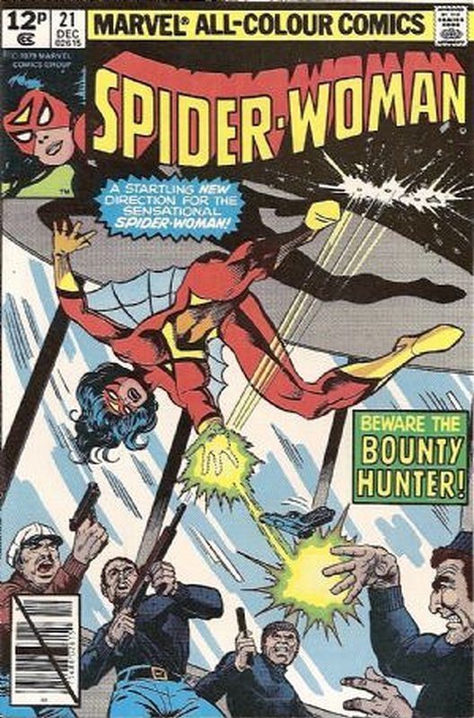 Cover of Spider-Woman (Vol 1) #21. One of 250,000 Vintage American Comics on sale from Krypton!