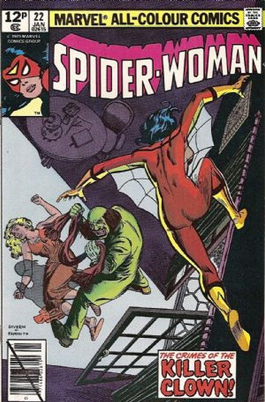 Cover of Spider-Woman (Vol 1) #22. One of 250,000 Vintage American Comics on sale from Krypton!