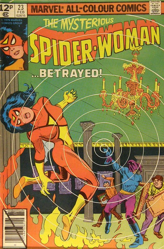 Cover of Spider-Woman (Vol 1) #23. One of 250,000 Vintage American Comics on sale from Krypton!