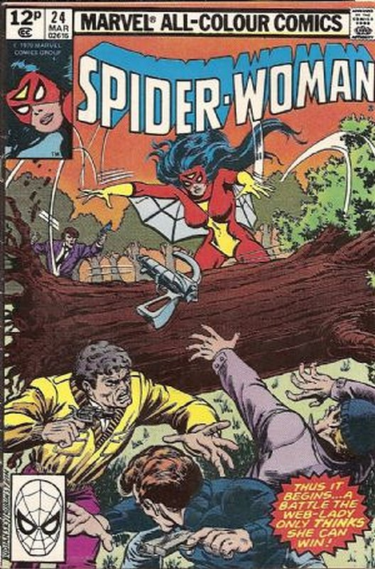 Cover of Spider-Woman (Vol 1) #24. One of 250,000 Vintage American Comics on sale from Krypton!