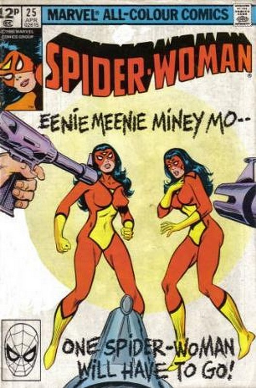 Cover of Spider-Woman (Vol 1) #25. One of 250,000 Vintage American Comics on sale from Krypton!