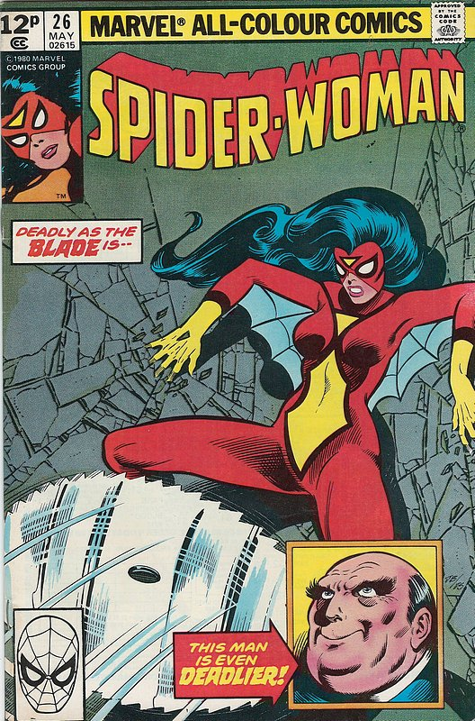 Cover of Spider-Woman (Vol 1) #26. One of 250,000 Vintage American Comics on sale from Krypton!