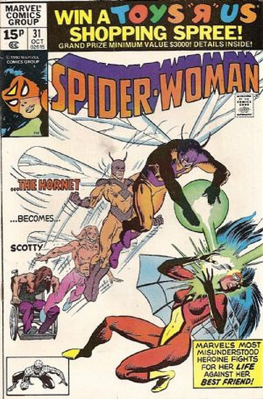 Cover of Spider-Woman (Vol 1) #31. One of 250,000 Vintage American Comics on sale from Krypton!