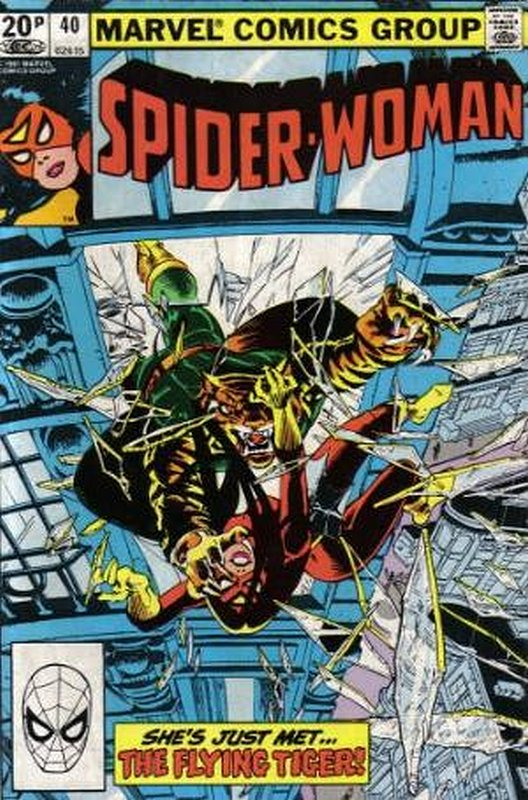 Cover of Spider-Woman (Vol 1) #40. One of 250,000 Vintage American Comics on sale from Krypton!