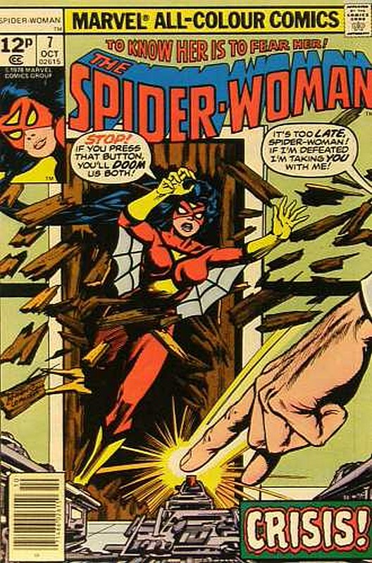 Cover of Spider-Woman (Vol 1) #7. One of 250,000 Vintage American Comics on sale from Krypton!