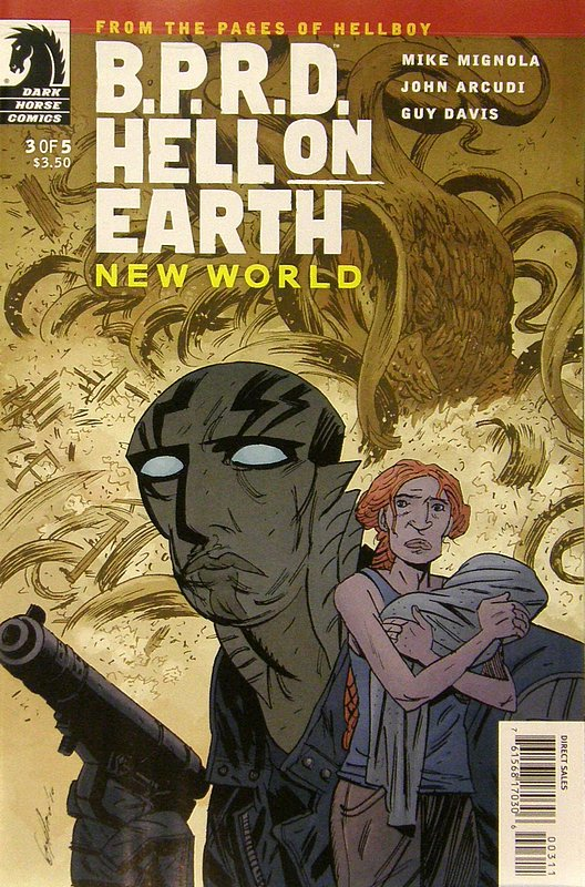 Cover of BPRD: Hell on Earth New World (2010 Ltd) #3. One of 250,000 Vintage American Comics on sale from Krypton!