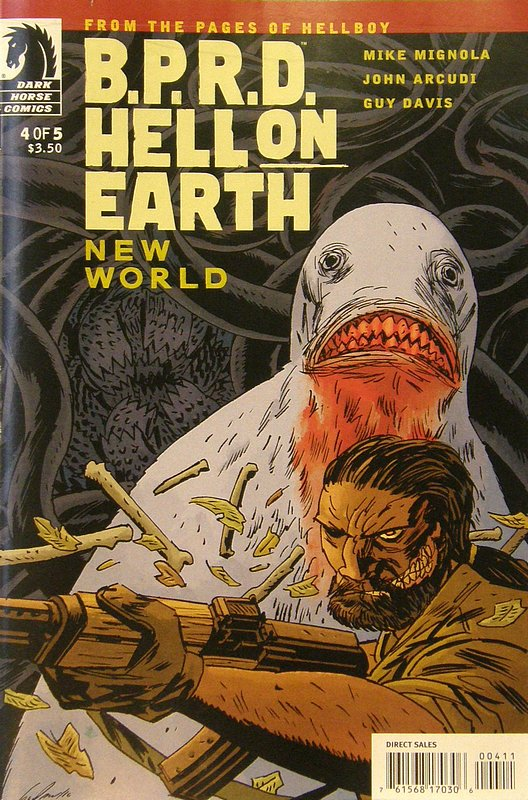 Cover of BPRD: Hell on Earth New World (2010 Ltd) #4. One of 250,000 Vintage American Comics on sale from Krypton!